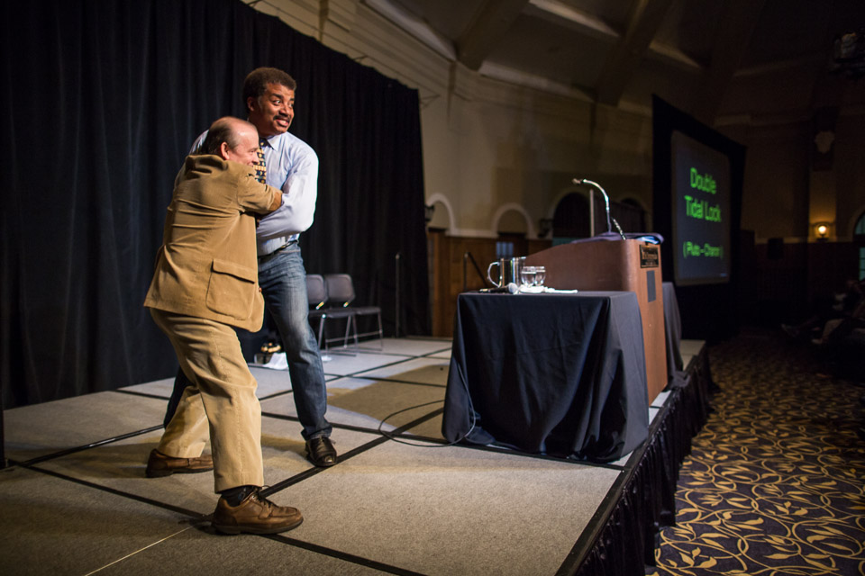 Neil deGrasse Tyson visits UI campus | Iowa Now