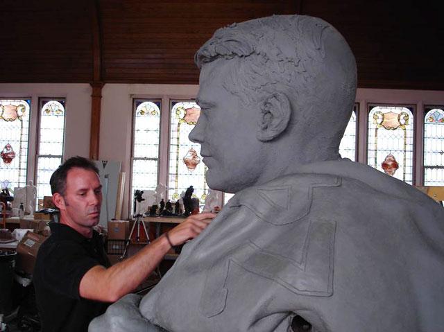 Kinnick sculpture