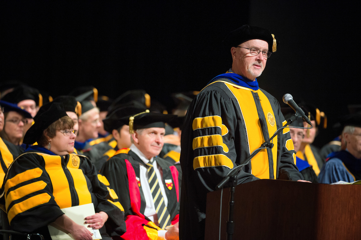 recapping fall commencement iowa now john c keller associate provost for graduate and professional education and dean of the