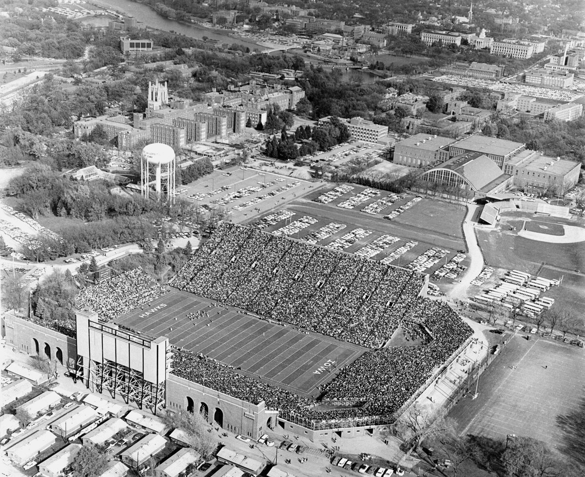 Old Gold: The view from above | Iowa Now on high point solutions stadium map, yulman stadium map, yager stadium map, vaught hemingway stadium map, waldo stadium map, martin stadium map, mclane stadium map, kelly shorts stadium map, kidd brewer stadium map, nrg stadium map, nationals stadium map, davis wade stadium map, houston rodeo stadium map, williams stadium map, lockhart stadium map, tdecu stadium map, knights stadium map, papa john's cardinal stadium map, scott stadium map, avaya stadium map,
