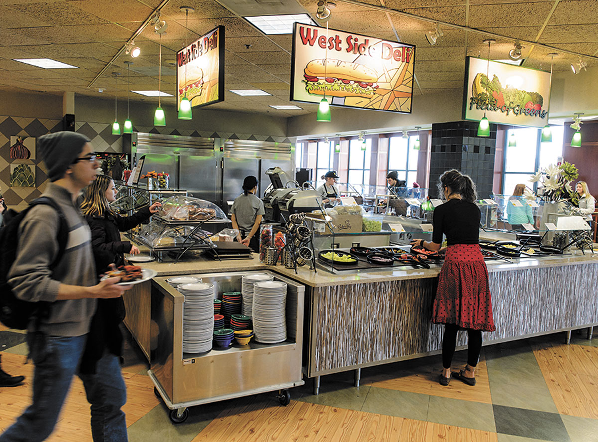 Full service food service iowa now for U of t dining hall