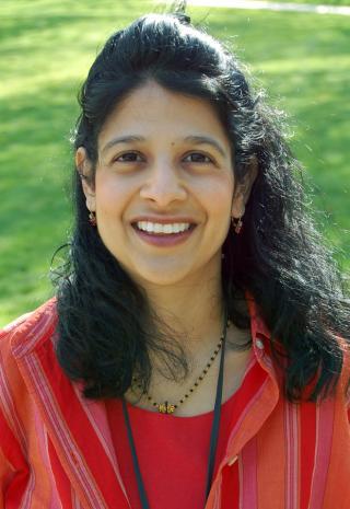 portrait of Professor Saba Ali