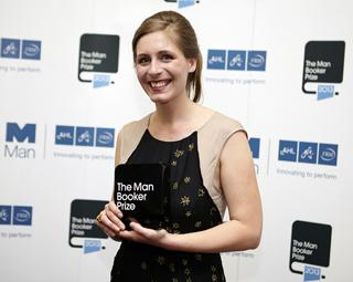 eleanor catton holding booker prize