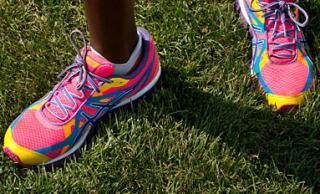 Diane Nukuri-Johnson's running shoes