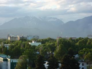 A view of Dashunbe, the capital of Tajikistan