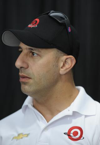 Tony Kanaan at Indy 500 Media Day