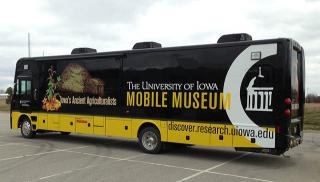 exterior of mobile museum
