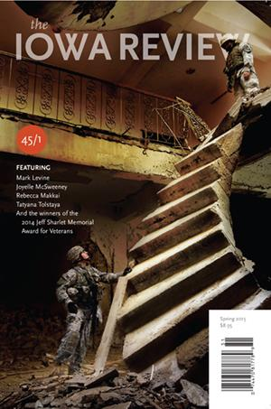 Cover of the Spring 2015 issue of The Iowa Review