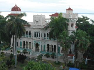 A historic building in Cuba.