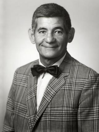 1980 portrait of Sam Becker