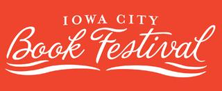 iowa city book festival logo