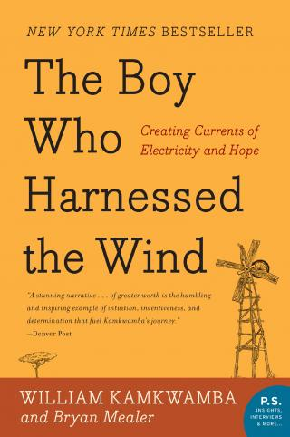 """The Boy Who Harnessed the Wind"" book cover"