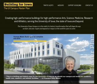 Building for Iowa website