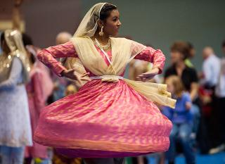 Dancer at Celebrating Cultural Diversity Festival