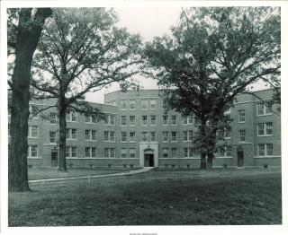 Central section of Hillcrest Hall, 1939