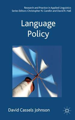cover of Language Policy book