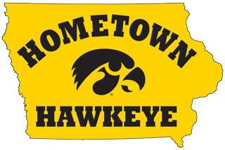 hometown hawkeye graphic
