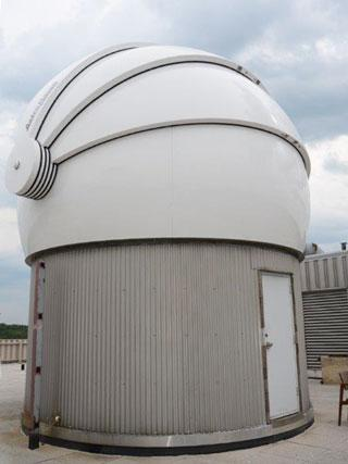 astronomical observatory dome