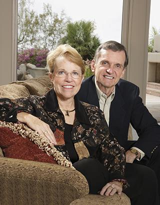 Mary Joy and Jerre Stead