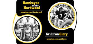 ad for hawkeyes and the hardwood