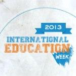 International Education Week 2013 logo
