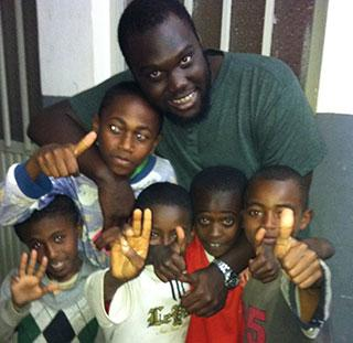 Anthony Ferguson travelled to Addis Ababa, Ethiopia with Intervarsity on a mission trip.