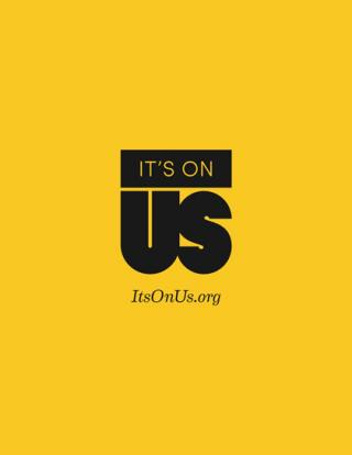 It's On Us graphic