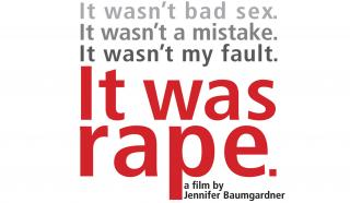 It was rape poster to promote educational film.