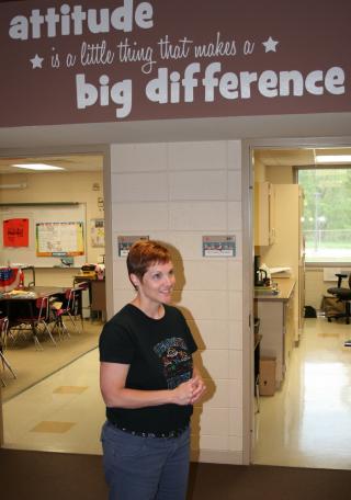 Jenni McCrory, principal of Sergeant Bluff-Luton Elementary School.