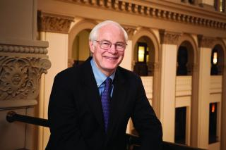 Jim Leach portrait in U.S. Capitol