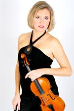 jessica mathaes holding violin