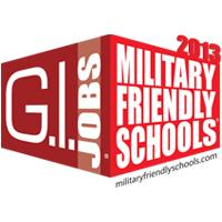 Logo of Military Friendly Schools