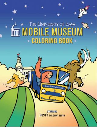 Cover of Mobile Museum Coloring Book