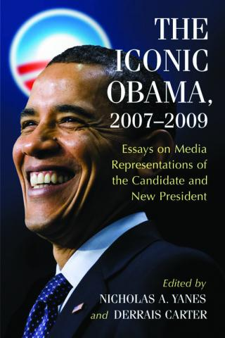 The Iconic Obama, book cover