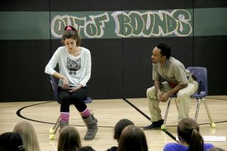 """Out of Bounds"" play being performed"
