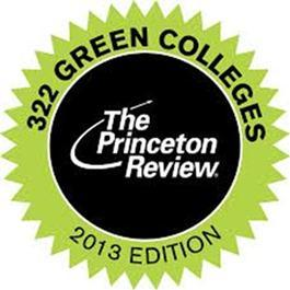 Logo for The Princeton Review 2013 Guide to Green Colleges