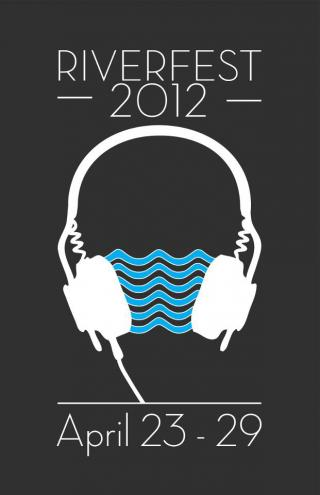 RiverFest 2012 promotional poster
