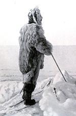 portrait of Roald Amundsen, 1872-1928.