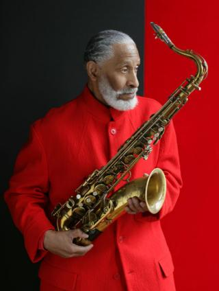 saxophonist Sonny Rollins