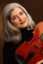 christine rutledge holding viola