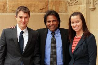 Scott Quellhorst, Peter Persaud, Emily Ehlers.