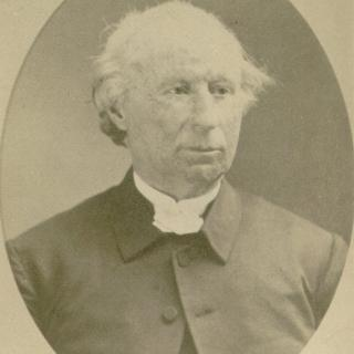 portrait of Silas Totten, second SUI president
