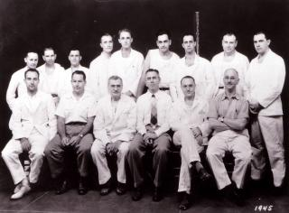 The UI Department of Orthopaedics and Rehabilitation, 1945.