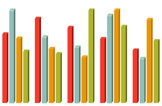 bar graph illustration