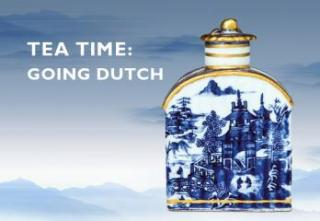 advertisement for tea time event
