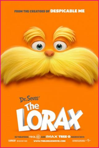 Dr. Suess' The Lorax movie poster