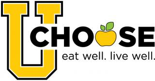 U Choose eat well. live well logo