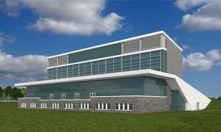rendering of UI-Kirkwood regional center