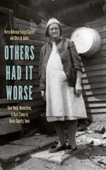 book cover featuring elderly woman