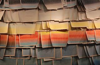 Newsprint Sunrise by Jason Urban. Photo courtesy of Jason Urban.